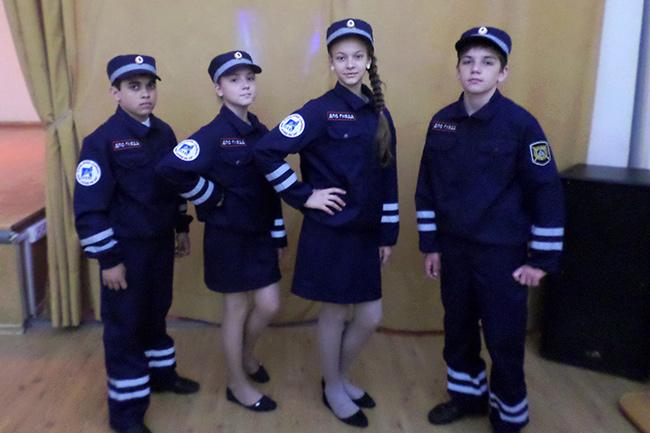 Форма кадет для классов ГИБДД