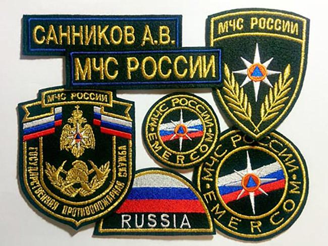Эмблемы и нашивки кадетские