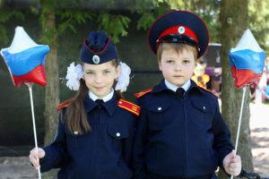 Казачья кадетская форма